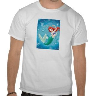 Little Mermaid Birday Card Disney Tshirts