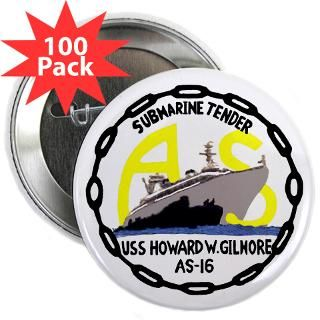 10 pack $ 24 99 uss howard w gilmore as 16 3 5 button 100 pac $ 144 99
