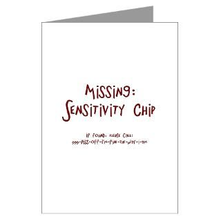 Missing Sensitivity Chip  American Angst