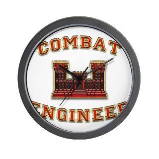 Combat Engineer Clock  Buy Combat Engineer Clocks
