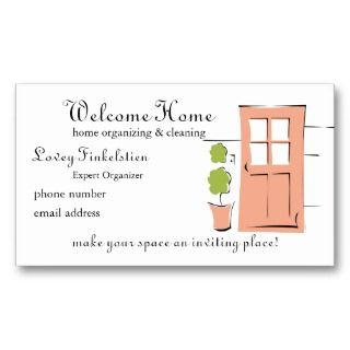 House Cleaning Business Cards, 399 House Cleaning Business Card