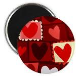 Red Pop Art Hearts Valentine T shirts & Gifts