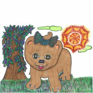 Shih Tzu Puppy Photo Sculptures, Cutouts and Shih Tzu Puppy Cut Outs