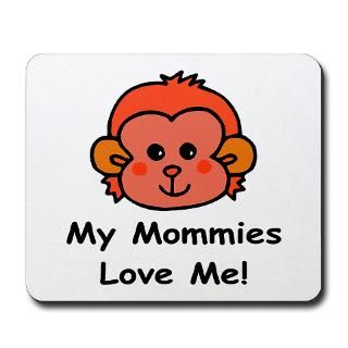 My Mommies Love Me (Monkey) Baby Wear & Gifts  Lesbian & Gay Pride