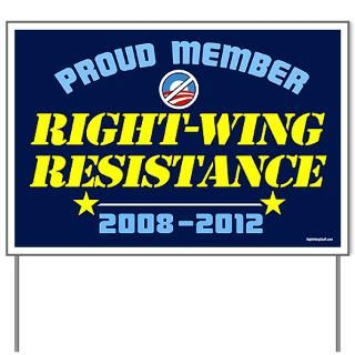 Yard Signs  RightWingStuff   Conservative Anti Obama T Shirts