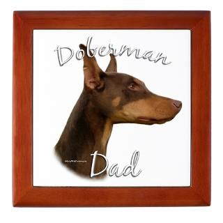 Doberman Keepsake Boxes  Doberman Memory Box