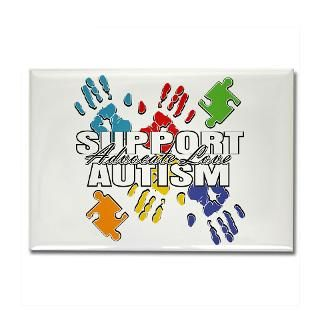 Support Autism Handprints Colorful Shirts & Gifts  Gifts 4 Awareness
