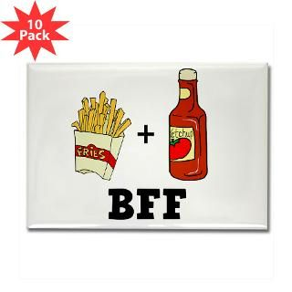 Ketchup & French Fries BFF  FunT Shirts Funny Shirts and Gifts