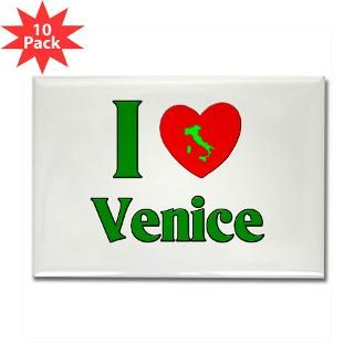 Love Venice Rectangle Magnet (10 pack)