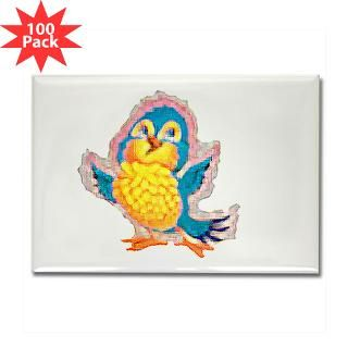 cartoon bird rectangle magnet 100 pack $ 189 99