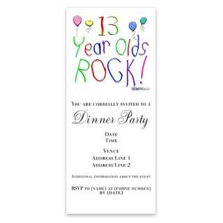 13 Year Old Birthday Invitations Invitation