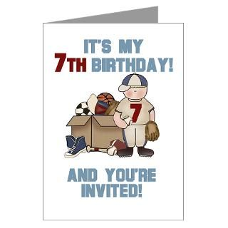 7Th Birthday Greeting Cards  Buy 7Th Birthday Cards
