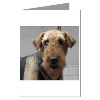 Airedale Terrier Greeting Cards  Buy Airedale Terrier Cards