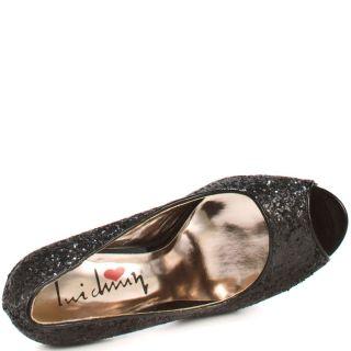 Kir Sten   Black Rock Glitter, Luichiny, $80.99