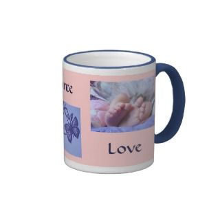 Sing Dance Love Coffee Mugs Pink Baby Mug gifts