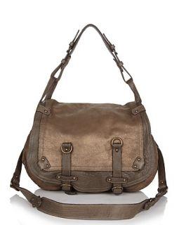 Abaco Jamily Leather Crossbody Saddle Bag