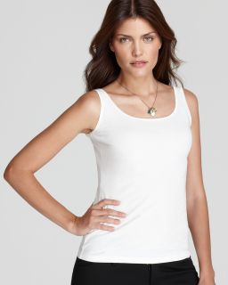 anne klein basic scoop neck tank price $ 26 00 color white size select