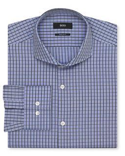 BOSS Black Dwayne Slim Plaid Dress Shirt   Regular Fit