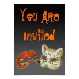 Máscaras Invitacion Personal de