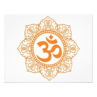 Om   Ohm   Aum Symbol Custom Announcements