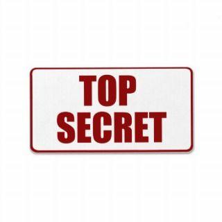 Top Secret Red Labels