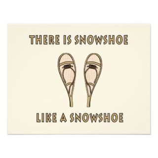 Snowshoe Invitations