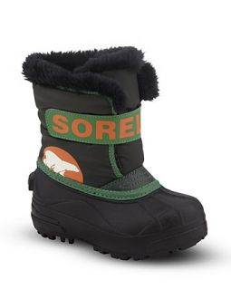Sorel Boys Snow Commander Boots   Sizes 4 7 Infant