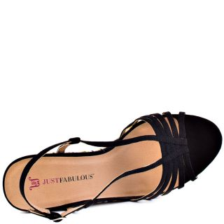 Just Fabulouss Multi Color Fatima   Black for 59.99