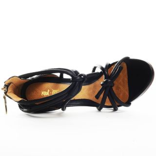 Ray Shoe   Black Leather, LAMB, $322.99
