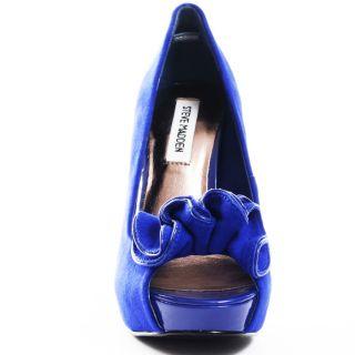 Regaal Heel   Blue Suede, Steve Madden, $99.99,