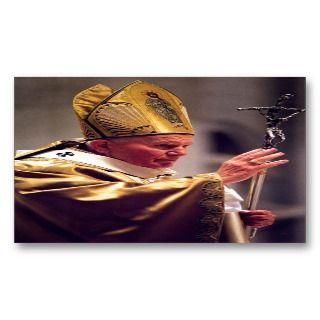 Venerable Pope John Paul II Business Card Template