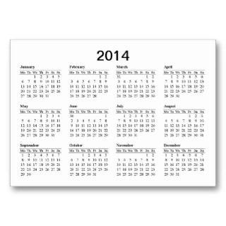2013 2014 Calendar Template