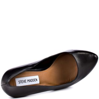 Steve Maddens Black Dejavu   Black Leather for 129.99