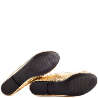 Betsey Johnsons Gold Bambbi   Gold Glitter for 89.99