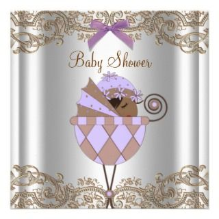 invitation this sweet african american baby girl shower invitation can