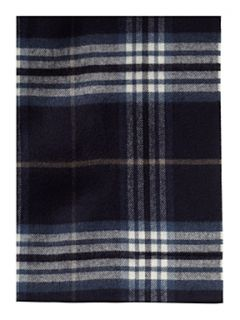 Linea Soft touch check scarf Burgundy   House of Fraser