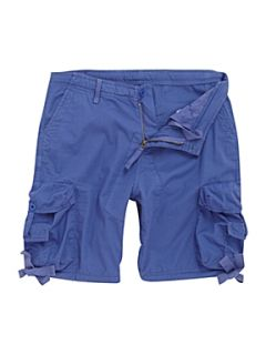 Linea Gerry poplin cargo short Blue