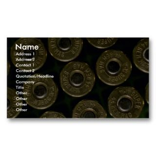 in carrier, detail of cap business card template