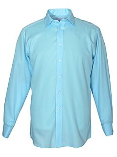 Double TWO King Size Non Iron Formal Shirt Blue   House of Fraser