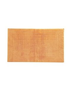 Vossen Exclusive bath mat range in peach   House of Fraser