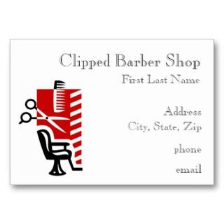 Barber Shop In Walmart : Barber Shop Business Cards