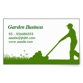 lawn care grass cutting business stickers