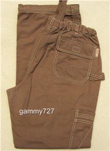 Large Koi Lindsey Scrub Pants Cocoa Brown