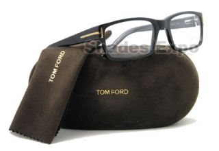 Tom Ford Eyeglass TF 5013 Black TF5013 B5 Optical RX