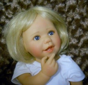 Heart Soul Hailey by Artist Sybil Sauer 24 Toddler Girl Doll Vinyl