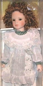 KATRINA Ashton Drake Porcelain Doll Beautiful Curls Lifelike So Real