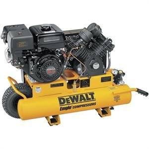 Dewalt Air Compressor 8 Gallon 9 HP Honda Engine D55271 R