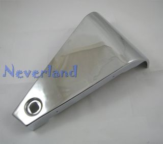 Kawasaki Vulcan VN 800 VN800 Chrome Metal Battery Side Covers