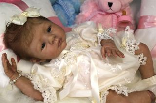 Reborn Prototype Baby Girl Keely Dee Stastny Doll Anatomically Correct