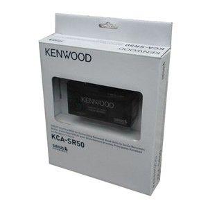 Kenwood KCA SR50 Sirius Radio Interface Module Adapter